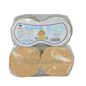 white sesame candy