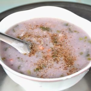 purple yam soup